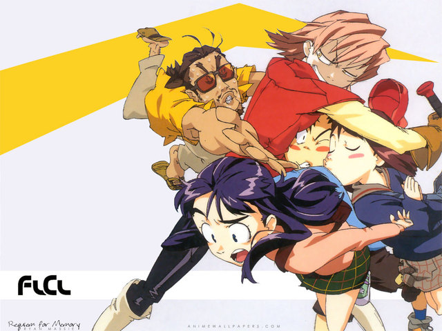 FLCL Anime Wallpaper #35