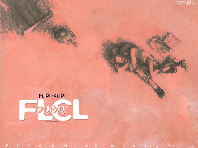 FLCL Anime Wallpaper #3