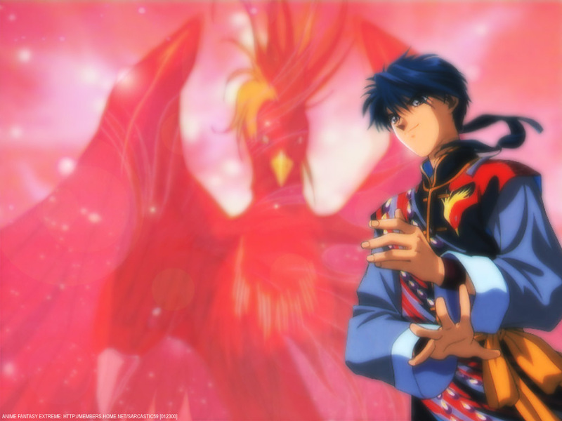 Fushigi Yuugi Anime Wallpaper # 4