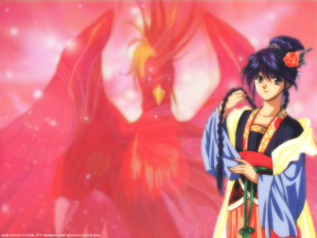 Fushigi Yuugi Anime Wallpaper #6