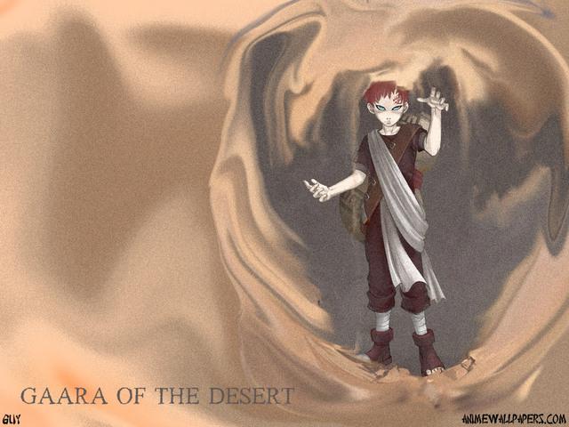 Gaara Anime Wallpaper #1