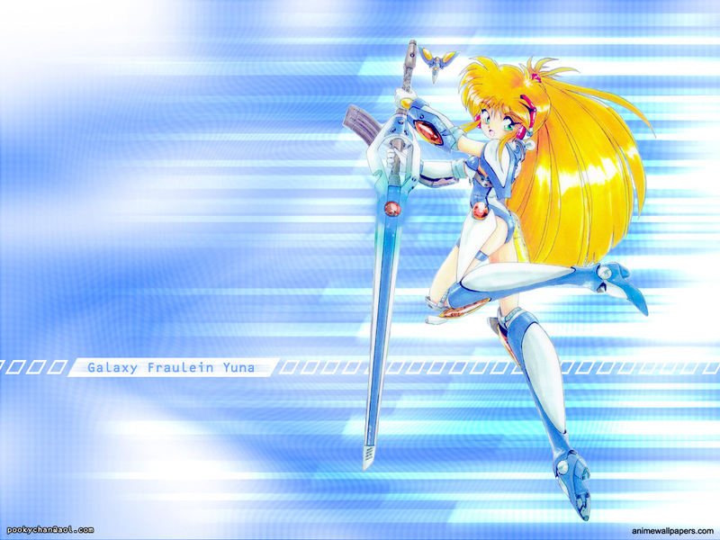 Galaxy Fraulein Yuna Anime Wallpaper # 1