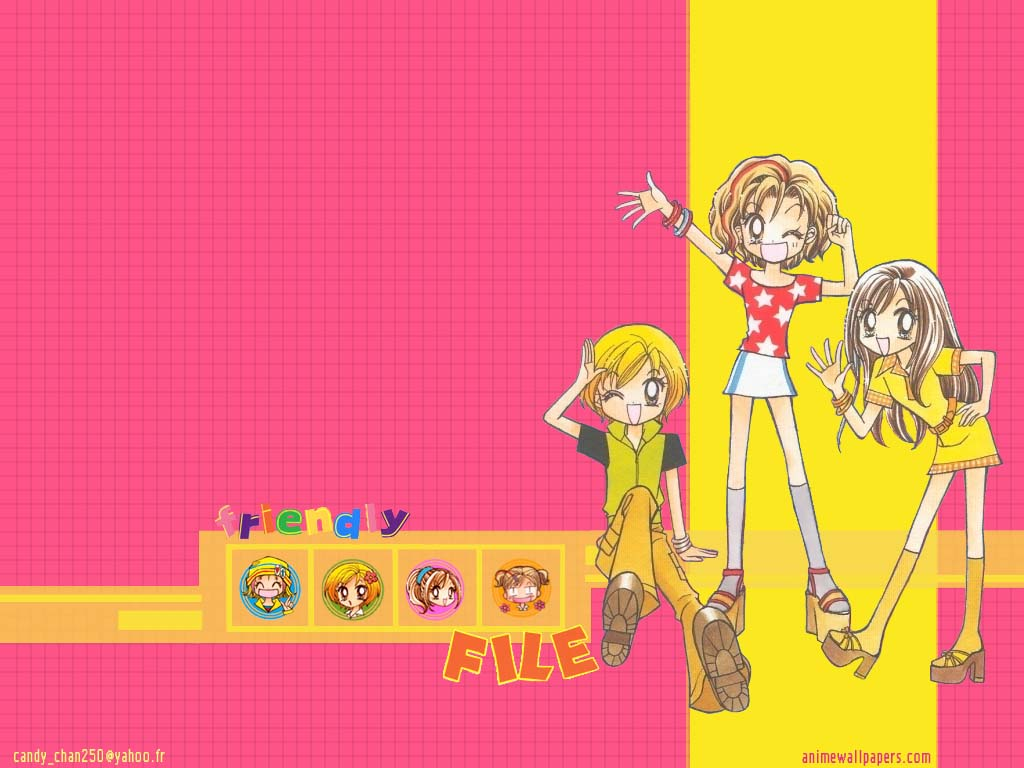 Gals! Anime Wallpaper # 2