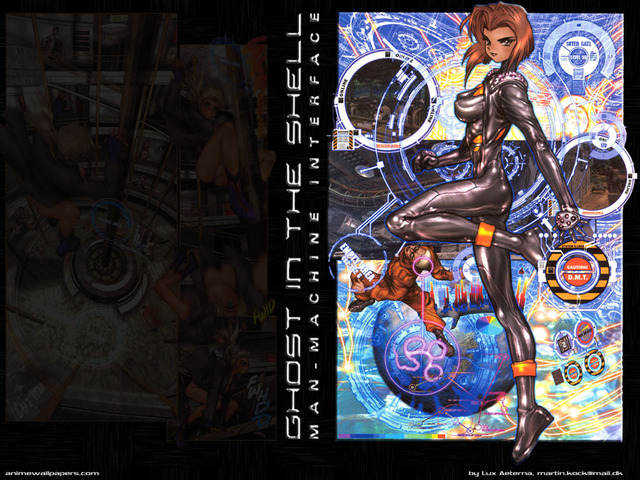 Ghost in the Shell Anime Wallpaper #12
