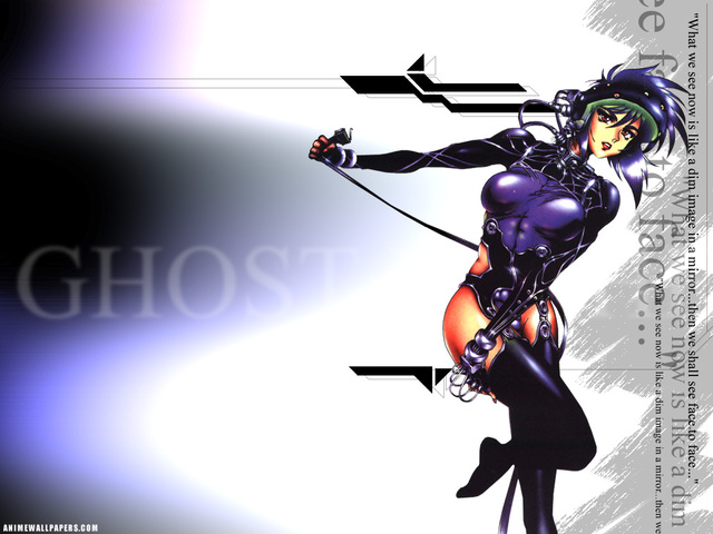 Ghost in the Shell Anime Wallpaper #1