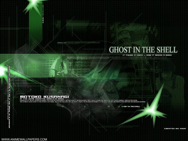 Ghost in the Shell Anime Wallpaper #3