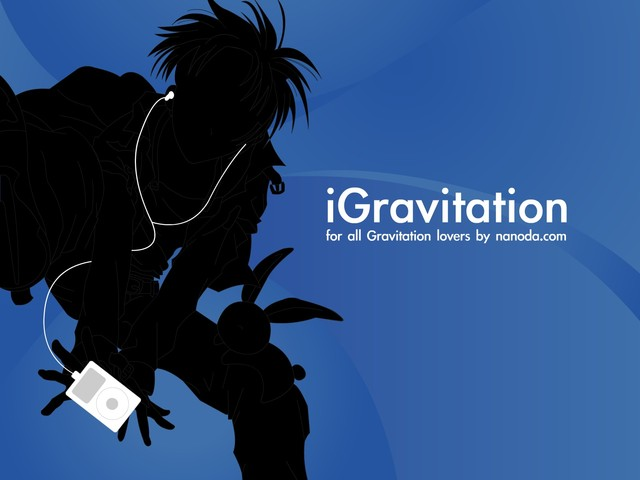 Gravitation Anime Wallpaper #1