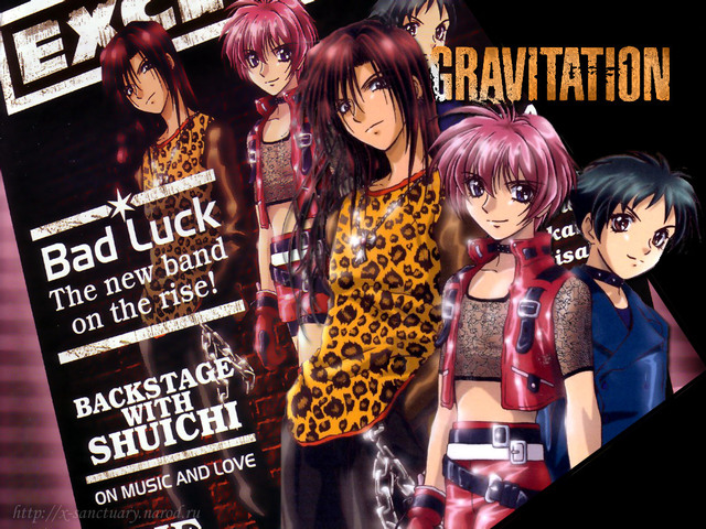 Gravitation Anime Wallpaper #2