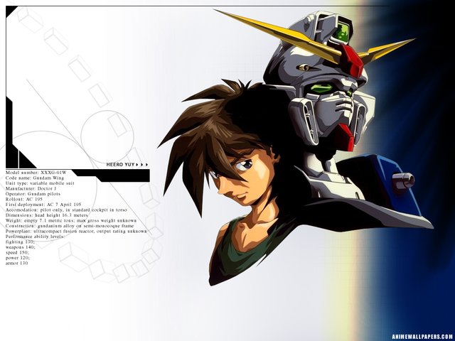 Gundam Wing Anime Wallpaper #5