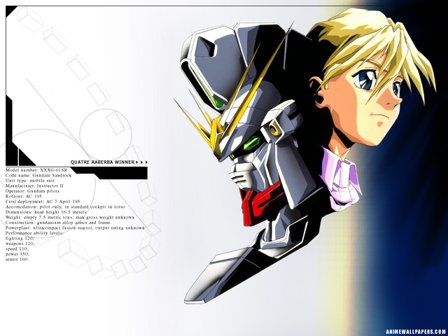 Gundam Wing Anime Wallpaper #8