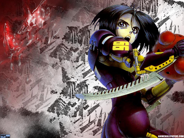 Battle Angel Alita Anime Wallpaper #1
