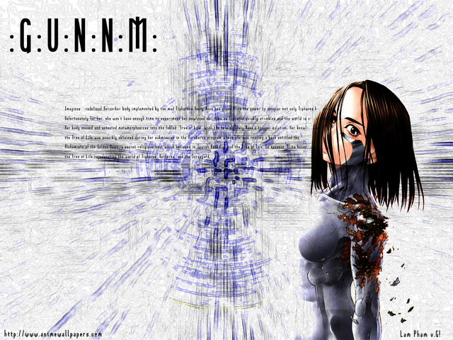 Battle Angel Alita Anime Wallpaper #3