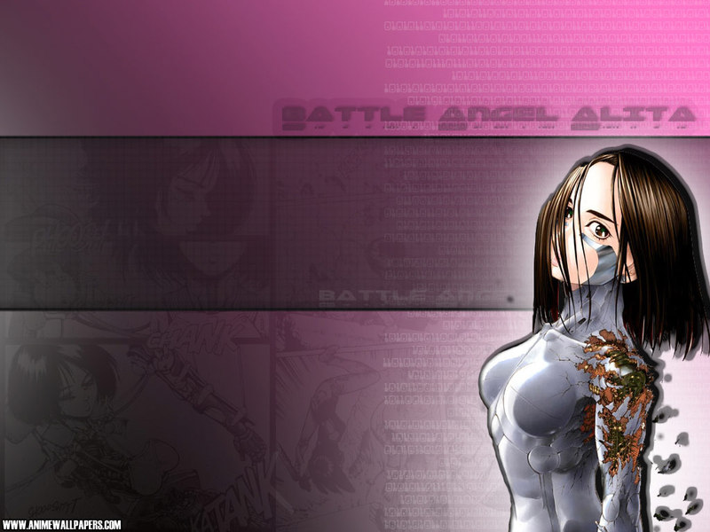 Battle Angel Alita Anime Wallpaper # 7