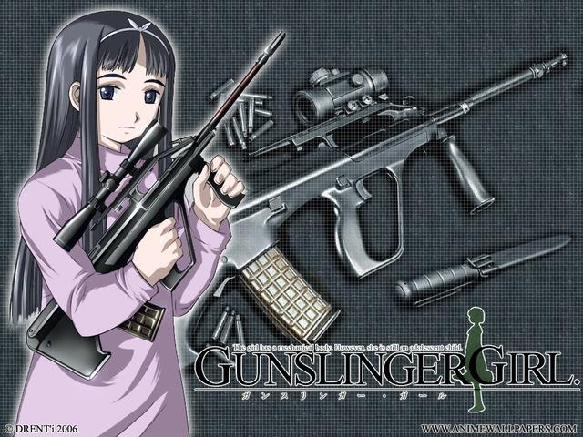 Gunslinger Girl Anime Wallpaper #1
