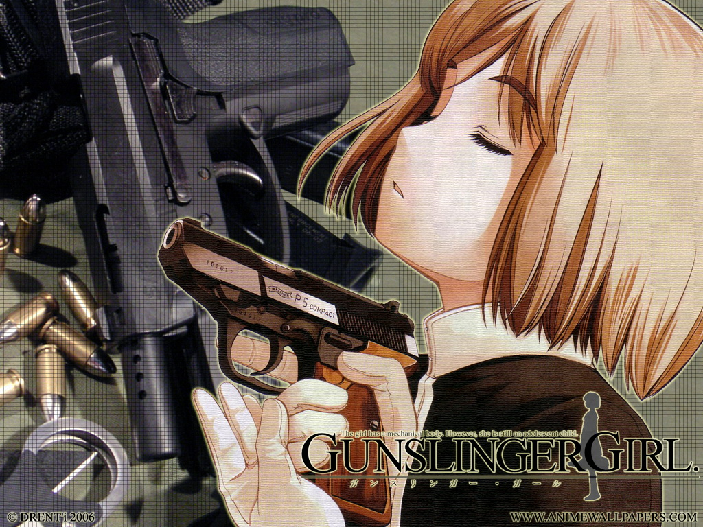 Gunslinger Girl Anime Wallpaper # 3