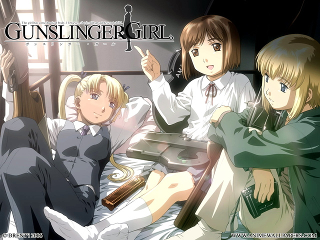 Gunslinger Girl Anime Wallpaper #4