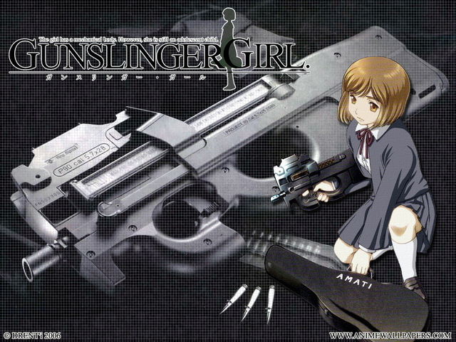 Gunslinger Girl Anime Wallpaper #5