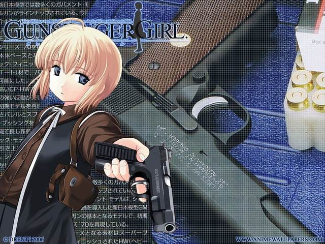 Gunslinger Girl Anime Wallpaper #6