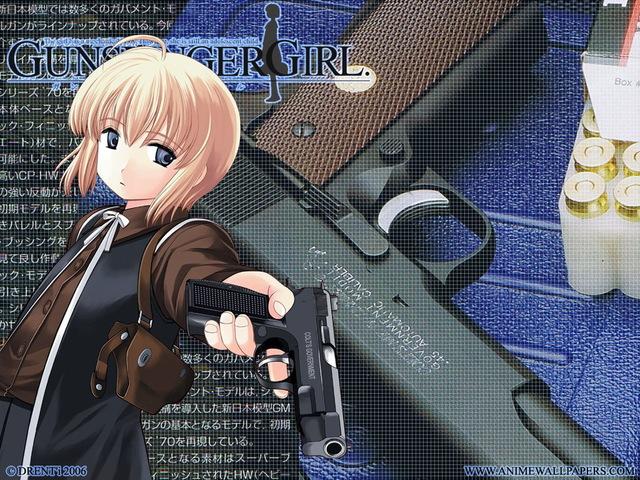 Gunslinger Girl Anime Wallpaper #6