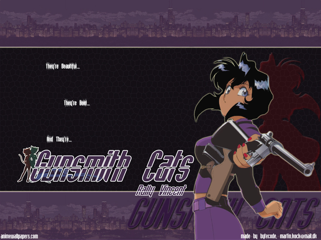 Gunsmith Cats Anime Wallpaper #5