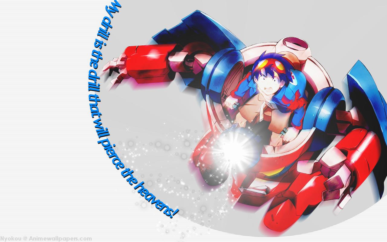 Tengen Toppa Gurren Lagann Anime Wallpaper # 2