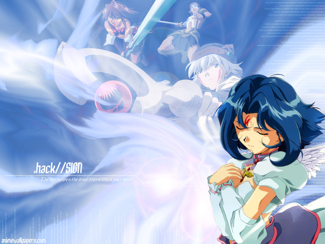 .Hack Anime Wallpaper #17