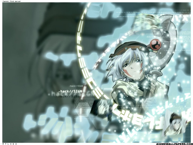 .Hack Anime Wallpaper #23