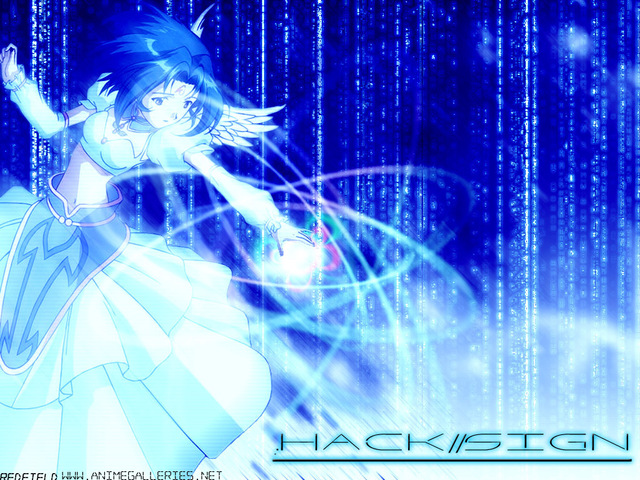 .Hack Anime Wallpaper #31