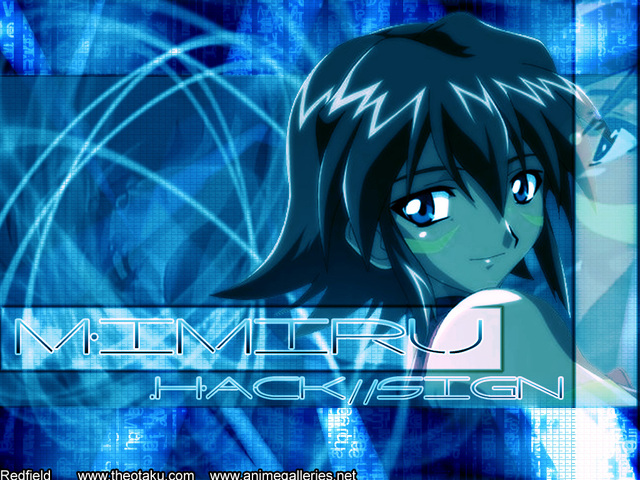 .Hack Anime Wallpaper #32