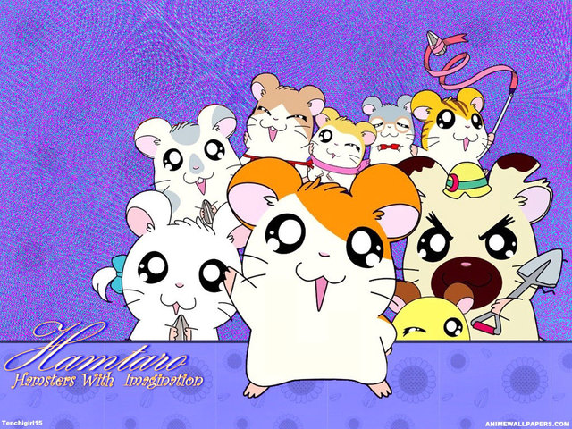 Hamtaro Anime Wallpaper #2