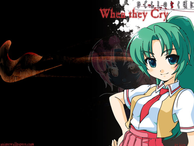 Higurashi no Naku Koro ni Anime Wallpaper #1