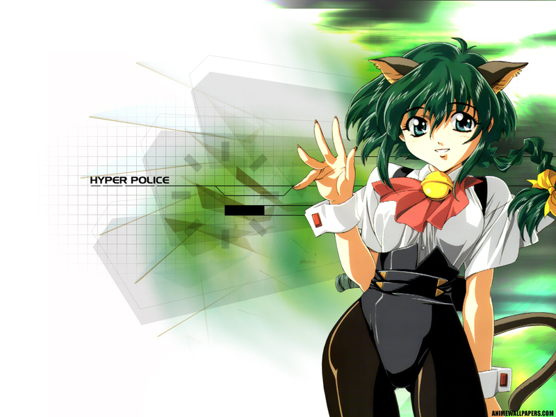 Hyper Police Anime Wallpaper # 4