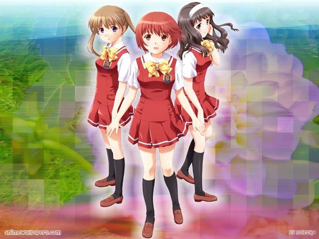 Kashimashi: Girl meets Girl Anime Wallpaper #1