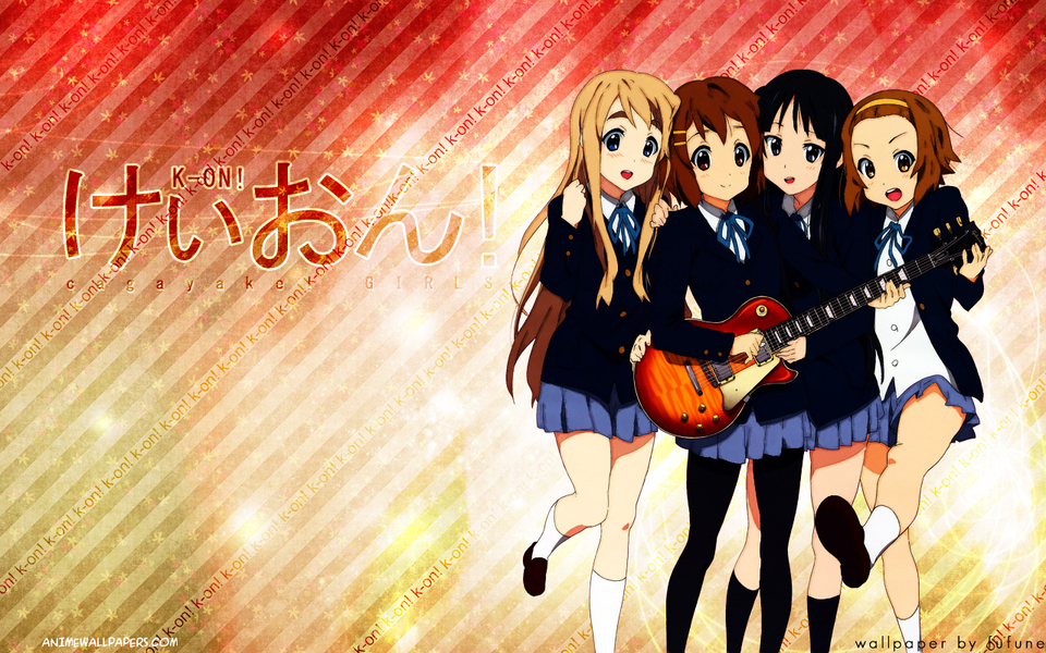 K-ON! Anime Wallpaper # 2