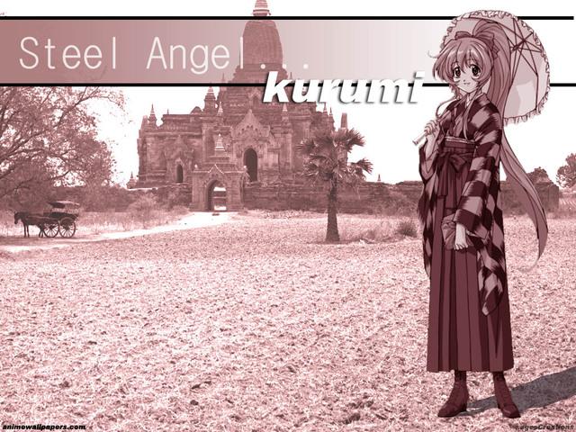 Steel Angel Kurumi Anime Wallpaper #2