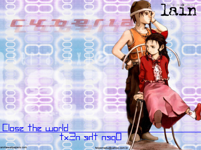 Serial Experiments Lain Anime Wallpaper #17