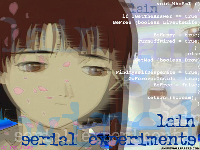Serial Experiments Lain Anime Wallpaper #29