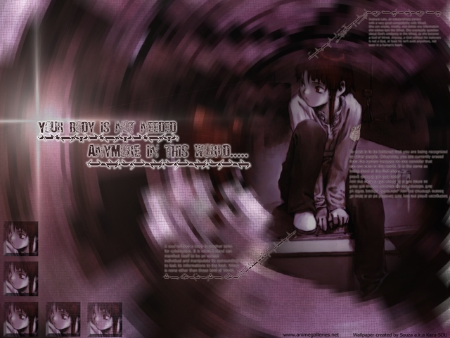 Serial Experiments Lain Anime Wallpaper #85