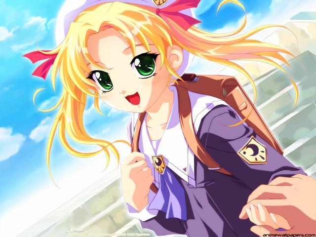 Little Monica Story Anime Wallpaper #2