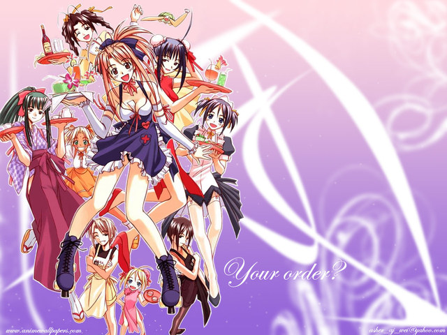 Love Hina Anime Wallpaper #11