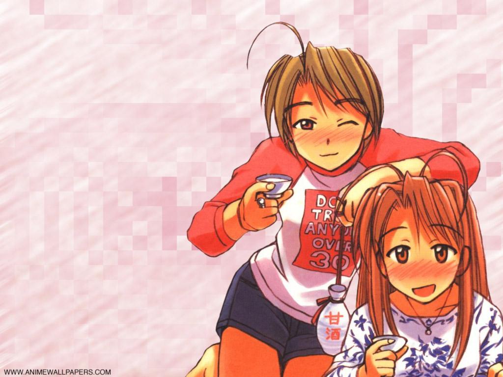 Love Hina Anime Wallpaper # 21