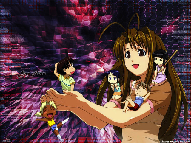 Love Hina Anime Wallpaper #23