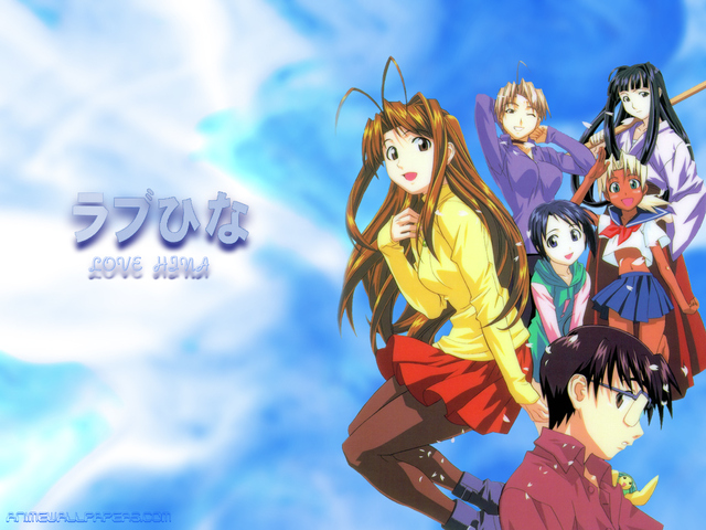 Love Hina Anime Wallpaper #28