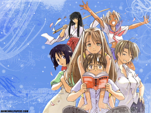 Love Hina Anime Wallpaper #41