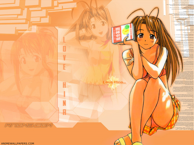 Love Hina Anime Wallpaper #4