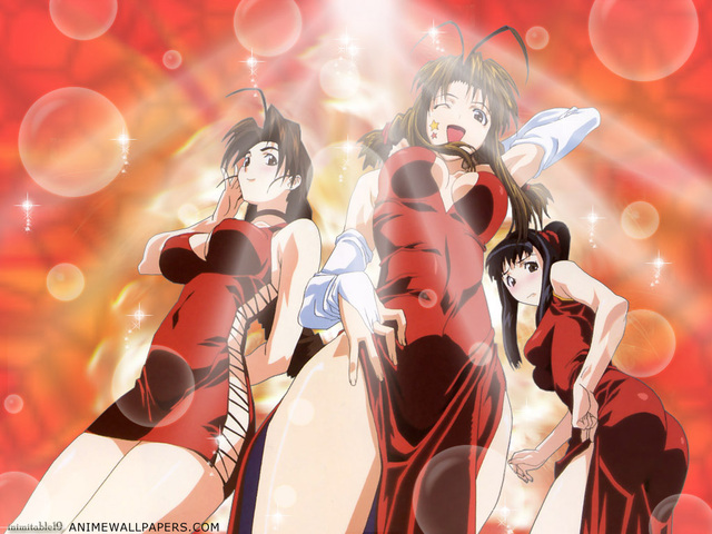 Love Hina Anime Wallpaper #5