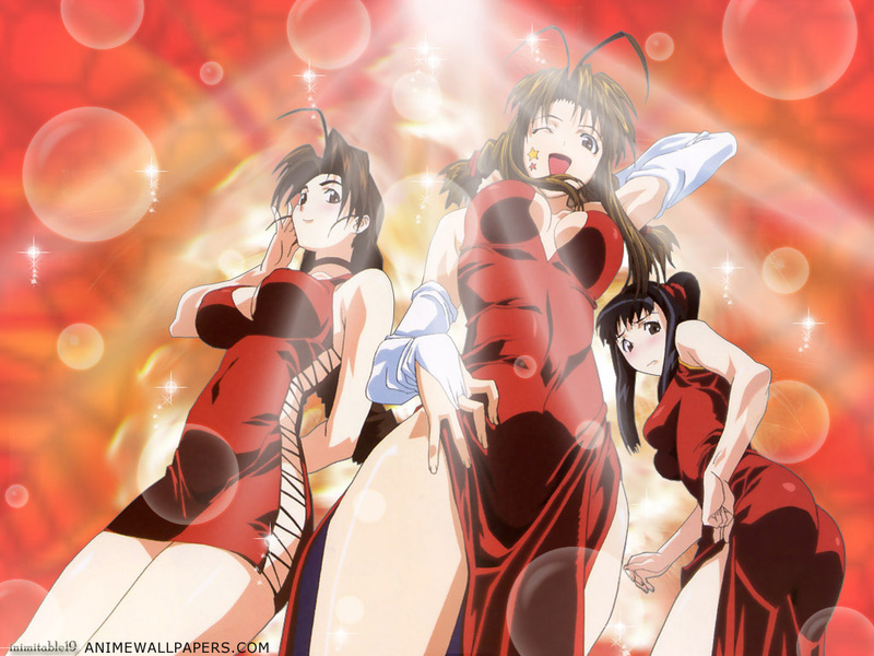 Love Hina Anime Wallpaper # 5