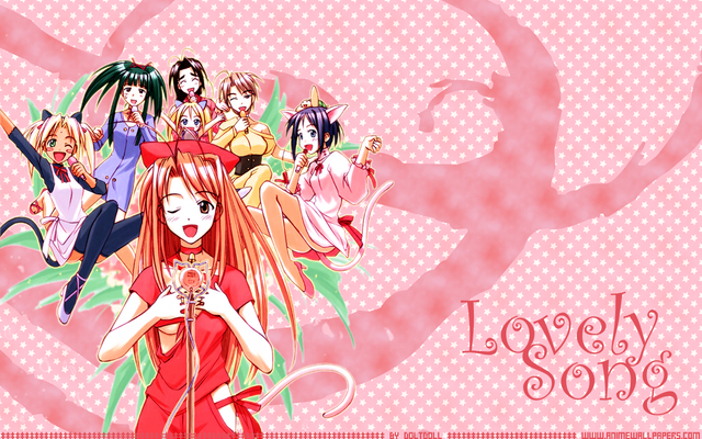 Love Hina Anime Wallpaper #64