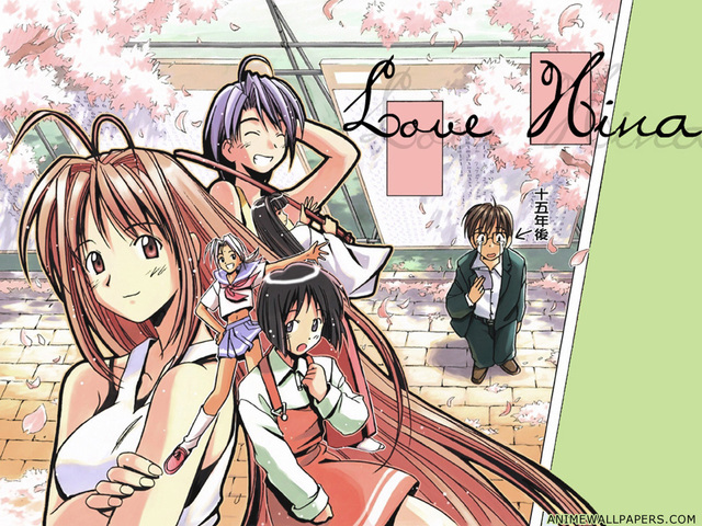 Love Hina Anime Wallpaper #6