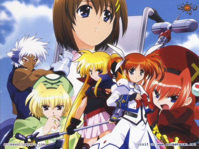 Mahou Shoujo Lyrical Nanoha Anime Wallpaper #1